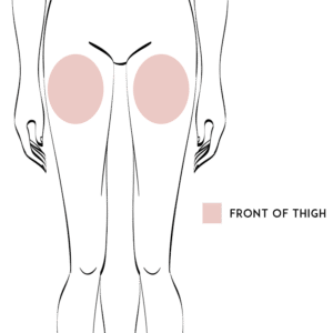 Front Thigh Liposuction