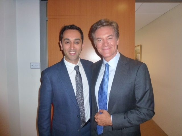 Dr Ajaka and Dr Oz in New York City
