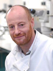 Professor Nicholas Dale in the School of Life Sciences