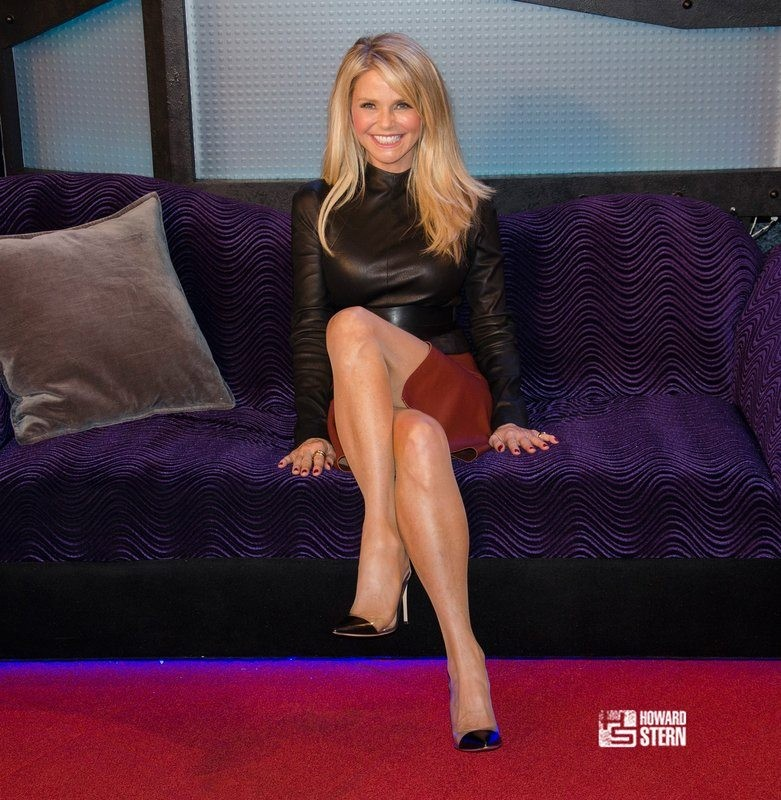 Christie Brinkley Howard Stern