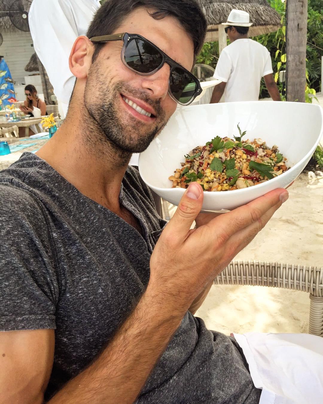 Novak Djokovics diet