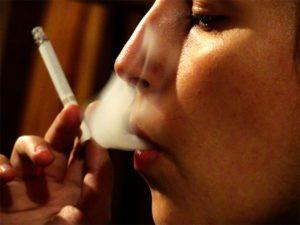 Smoking can cause wrinkles